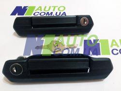 Ручки двери (черные) наружные НИВА 21214м; Lada 4x4 Urban