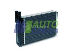 Радиатор отопителя 2108/1102 (алюм) (LRh 0108) «luzar»