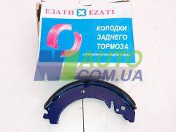 Комплект колодок заднего тормоза ВАЗ 2101, ВАЗ 2102, ВАЗ 2103, ВАЗ 2104, ВАЗ 2105, ВАЗ 2106 (Триал-Спорт)