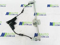 Стеклоподъемник ВАЗ 2110-2112 перед. правый тросового типа под электропривод (механизм)