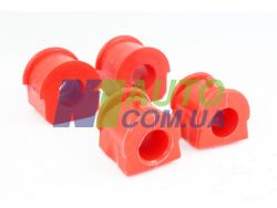 Втулка  стабилизатора 2121(красный полеуретан) «CS-20»