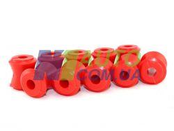 Втулки штанг реактивных 2101 (красный полиуретан) «CS-20»