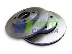 Диск тормозной передний ВАЗ 2101-07 Антикоррозионное покрытие «Rotinger»