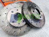 Диски переднего тормоза ВАЗ 2110-02 SPORT (перфорация) «ALNAS»
