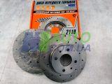 Диски переднего тормоза ВАЗ 2110-02 SPORT