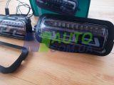 Подфарники LED на Lada Niva 4x4 с динамическим повторителем