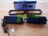 Светодиодные LED подфарники с ДХО, бегающим поворотником, прожектором для Лада Нива 4х4, URBAN, BRONTO