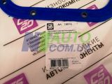 Прокладка поддона ВАЗ 2108 с металлическими шайбами (синий силикон) CS-20