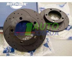 Диск тормозной передний ВАЗ 2121 Антикоррозионное покрытие TUNING 5 «Rotinger»}