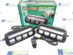 Светодиодные  подфарники Нива ВАЗ 2121-21214  (LED)