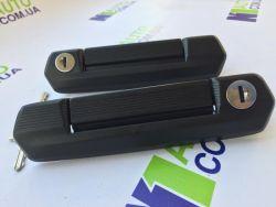 Ручки дверей НИВА 4x4 URBAN, (черные, 2шт). Конвейерная сборка для Автоваза