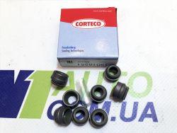 Corteco 19018251 (8 шт) сальники клапанов }